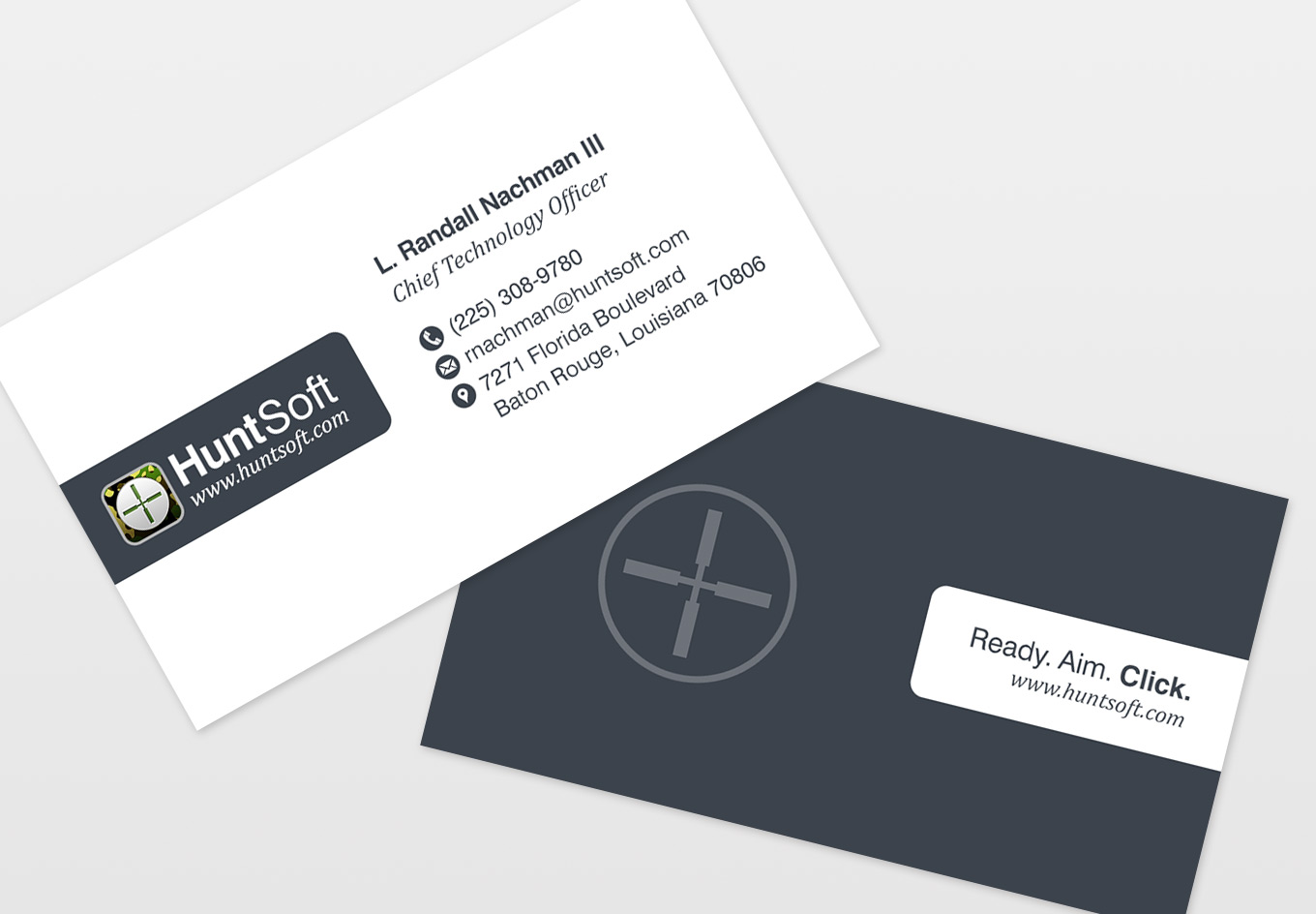 HuntSoft Business Cards