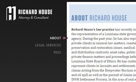 Richard House, Attorney & Consultant